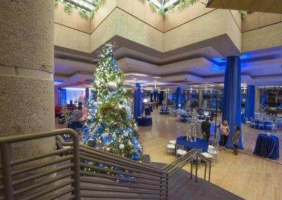 Host your next holiday party in the beautiful Atrium.