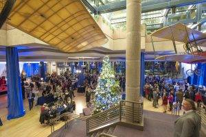 barattas partnered venue state historical building atrium christmas holiday party