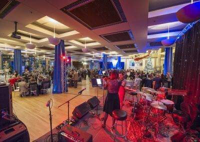 The Atrium has plenty of room for live bands to play at your next event.