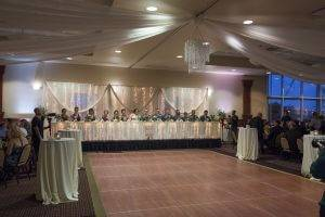 barattas forte event venue des moines iowa wedding set up