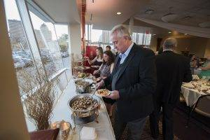 forte des moines barattas catering event venue buffet appetizers wedding