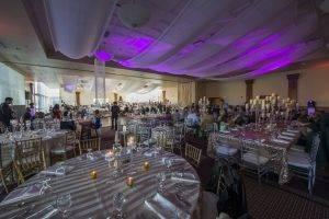 barattas forte des moines wedding glamour modern purple gold