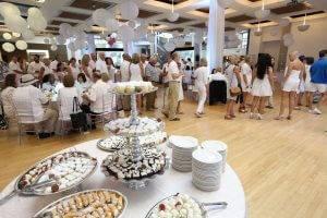 baratta's catering desserts atrium at state historical building