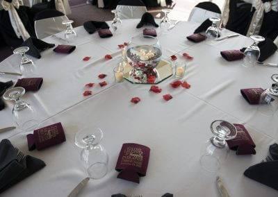 forte wedding event des moines dinner venue table decor