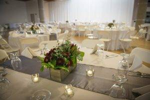 barattas venue partner state historical building table setting candles flowers