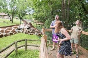 barattas catering blank park zoo des moines iowa animal exhibit event venue