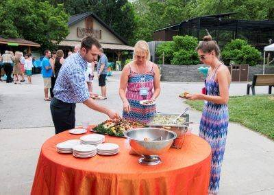 Baratta's is the proud partnered caterer for Blank Park Zoo!