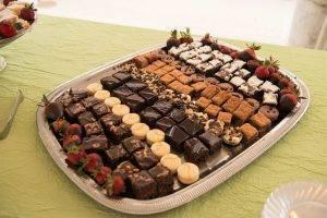 barattas catering blank park zoo des moines iowa mini dessert assortment wedding anniversary