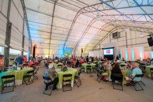 barattas catering blank park zoo des moines iowa event venue tent outdoors