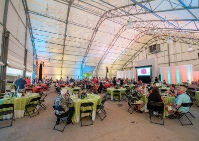 A peek into what your next event at the Blank Park Zoo, catered by Baratta's, could look like.