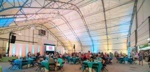 barattas catering blank park zoo des moines iowa zoobilation tent event venue