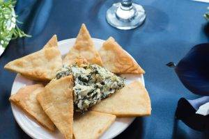 barattas catering blank park zoo des moines iowa spinach dip wedding event venue food