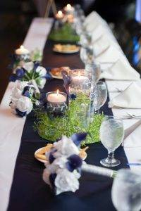 barattas catering blank park zoo des moines iowa head table wedding