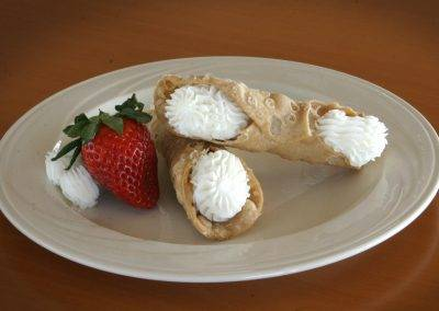 Classic cannolis from Baratta's are sure to please.