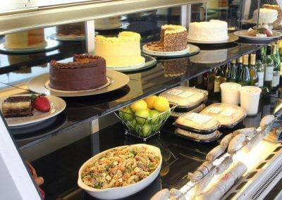 Always the best assortment of food at Café Baratta's.