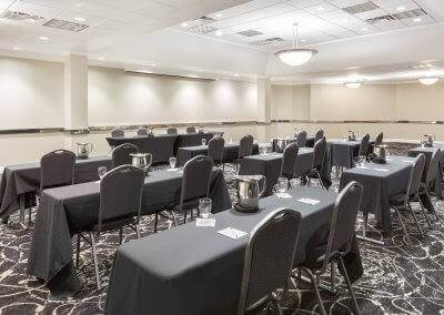 The Ramada at the Des Moines Airport is also the perfect place to host conferences!