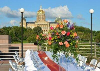Another beautiful wedding day at the State Historical Building with Baratta's Catering!