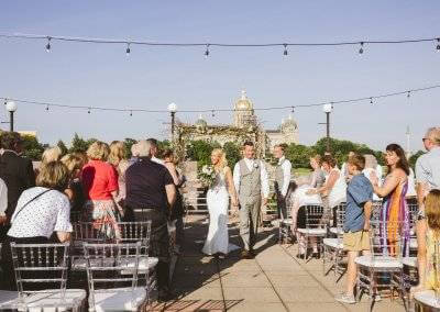 Berhow wedding on the Terrace (photography by Kara Vorwald)