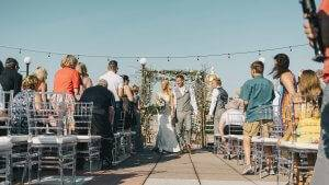 terrace wedding ceremony des moines iowa