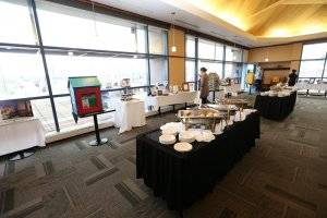 cafe barattas catering buffet table