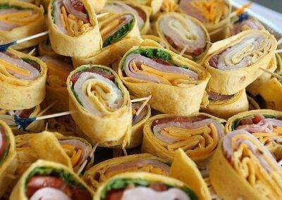 Pinwheel Wraps from Baratta's Catering