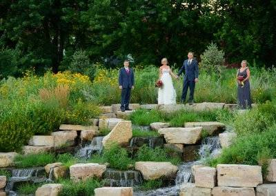 There are so many unique, beautiful areas to get married at Blank Park Zoo