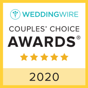 2020 weddingwire couples choice winner badge